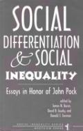 social differentiation and social inequality essays in honor of  social differentiation and social inequality essays in honor of john pock social inequality series